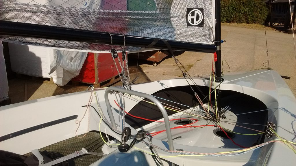 H2 #107 with optional mainsheet hoop